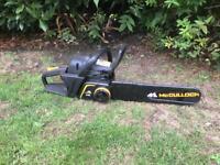Petrol chainsaw (spares or repair)