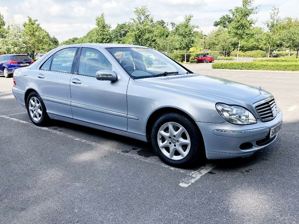 Mercedes S320 CDI S class w220 diesel automatic. HPI Clear. 2003. Low  mileage