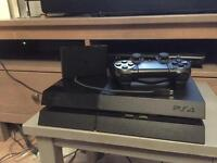 PS4 Sony Playstation 4, 500GB console, with extra.