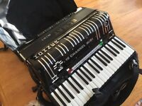 Hohner elmat midi accordion, totally reconditioned