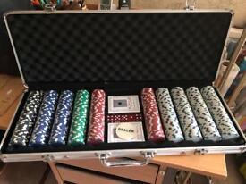 New poker set 500
