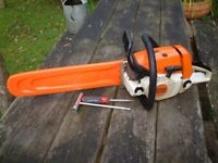 STIHL 2010 MS240 PROFESSIONAL PETROL CHAINSAW - EXCELLENT CONDITION