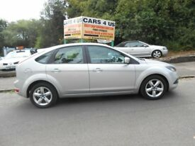 FORD FOCUS ZETEC 1.6CC 5DOOR H/B PETROL ONE OWNER FROM NEW VERY NICE CAR WITH 12 MONTH M-O-T .......