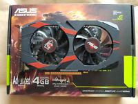 Asus Cerberus Nvidia GTX 1050Ti A4G 4GB Graphics Card