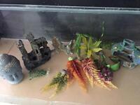 Fish tank aquarium ornaments