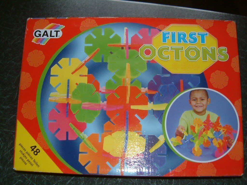 Galt First Octons Ideal First Octons Construction Toy Set
