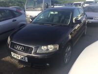 2004 NEW SHAPE AUDI A3 full SERVICE HISTORY MOTORWAY COMPANY MILES DRIVES SUPERB LONG MOT PX WELCOME