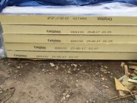 Celotex roof insulation boards 2400x1200x150