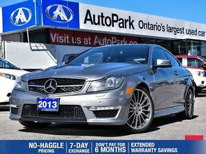 2013 Mercedes-Benz C-Class C63 AMG | NAVIGATION | ACCIDENT FREE