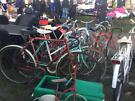 Vintage bicycles loads £40 each Hounslow c/boot