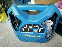Air compressor/tyre inflator