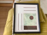 Picture Abstract with beautiful frame
