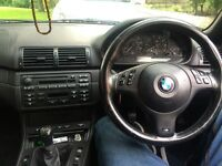 BMW SILVER CONVERTIBLE 2005 320ci FOR SALE