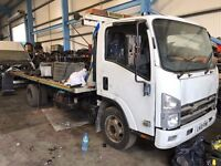 ISUZU FORWARD N75.190 NQR TILT AND SLIDE RECOVERY TRUCK 7.5TON, 2010REG FOR SALE