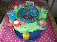 GRACO ENTERTAINER SIT IN BABY CHILD SEAT ACTIVITY CENTRE MUSICAL NOT CAR SEAT PUSHCHAIR