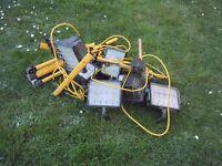 110v site lights for spares