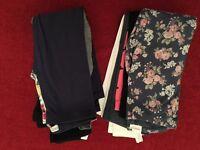 Girls bundle of leggings (12 pairs)