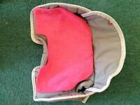 Buggy or car seat inserts - make life easier - avoid having to wash complete cover