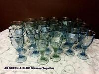 Colored Glasssware