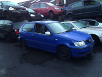 BREAKING - VOLKSWAGEN POLO 6N2 - 1999-2001 - ALL PARTS AVAILABLE