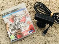 Virtua Tennis 4 🎾 Plus Camera - Playstation 3