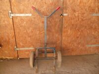 A 45 gallon drum trolley/ mover