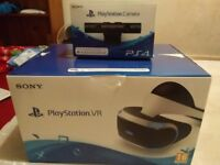 Psvr headset and v2 camera for sale! All connection included just no games! Used twice