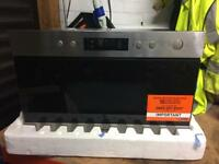 Microwave HOTPOINT MN314IXH Built-In Microwave Grill 700W 22L Stainless Steel