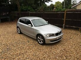 Silver BMW 1 Series - Lady driver, exceptionally low mileage