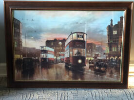In Town Tonight by Don Breckon large framed print