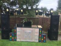 Mobile Disco with trailer