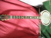4 banjos for sale as job lot or on there own