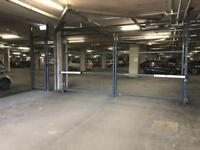 Secure underground parking space in central Bristol