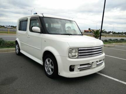 2003 NISSAN CUBE 7 SEATERS PEARL WHITE JDM JPUIMP MICRA Camden Park West Torrens Area Preview