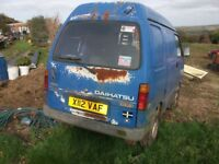 breaking daihatsu hijet good engine and gearbox please call
