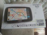 "for sale TomTom Go 510 Sat Nav. 5""; widescreen Touchscreen, Free Lifetime World Maps"