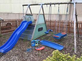 TP Sherwood swing & slide set