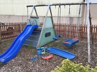 TP Sherwood swing & slide set