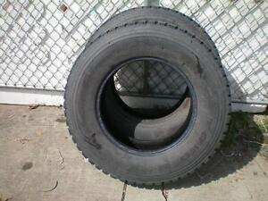2 Toyo M-55 Traction & Snow Tires * LT245 75R17 121/118N  * $80.00 for 2 .  M+S / Winter Tires ( used tires )