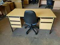 Large Home / office desk with drawers (no 3)