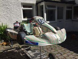 Tony Kart 401 (2015 Chassis) with Rotax Junior Engine