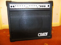 GUITAR AMP / AMPLIFIER CRATE TD70 – HYBRID VALVE PREAMP + SOLID STATE 70 WATTS POWER STAGE