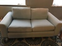 FREE Pale blue fabric sofa