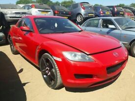 2004 MAZDA RX8 192PS NOW BREAKING FOR PARTS