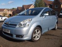 Toyota Corolla Verso T3 2.2 D4-D, Good condition.
