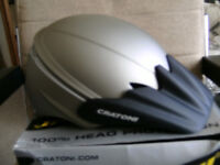 Brand New Cratoni Cycle/BMX/ Skate Helmet with peak. S/M 54-58cm