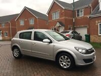 VAUXHALL ASTRA 1.4 CLUB, MILEAGE 58000, ONE PREVIOUS OWNER, MOT SEPT 2017