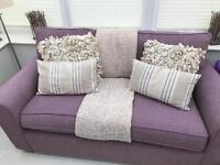 3 and 2 seater sofa's. Next furniture, like new.