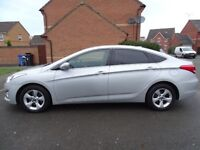 2012 HYUNDAI I40 BLUE 1.7 CRDi STYLE LONG MOT SAT NAV £30 YEAR TAX OVER 60 MPG