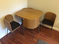 Ikea 'Fusion' Compact Dining Table & 4 Chairs